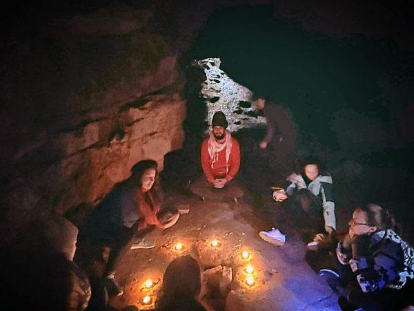 cave meditation